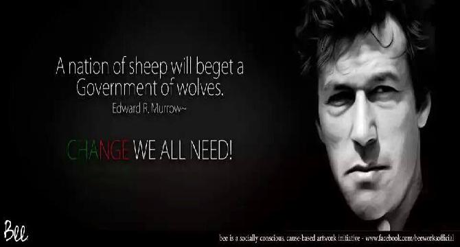 Imran Khan (change we all need)
