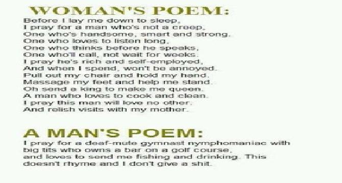 5 Funny Love Poems