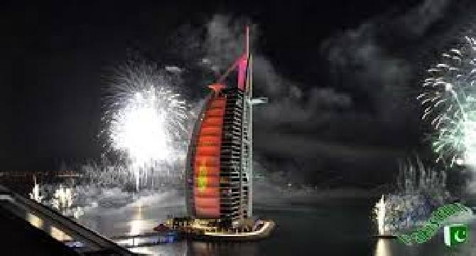 New year's Celebrations in Dubai