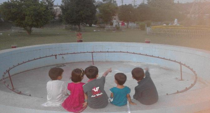 An Evening with kids.