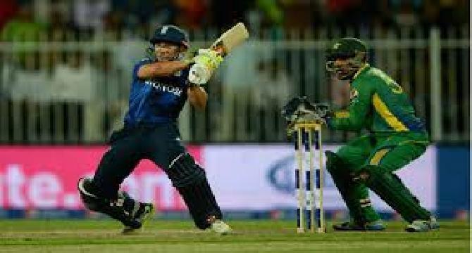 England beat Pakistan.
