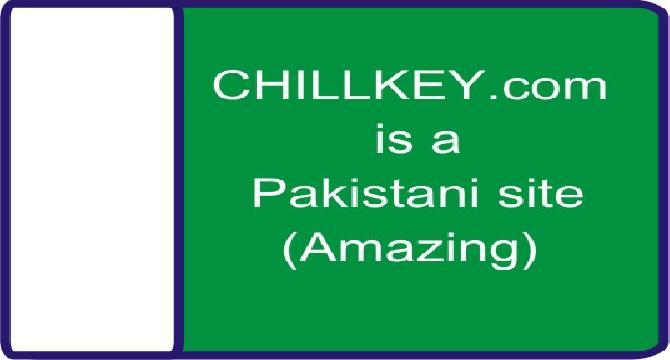 Chillkey[dot][com] belongs to PAKISTAN. Amazing news