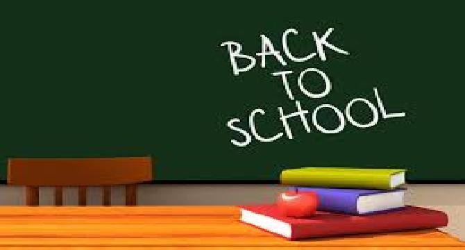 Schools are Open Again