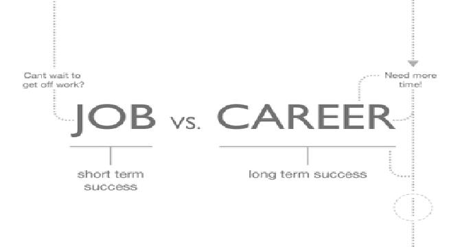 Job Oriented VS Career Oriented