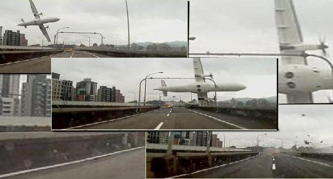 At least 19 killed in plane crash in Taiwan river