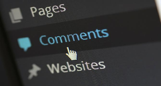 Do you check who has commented on your post?