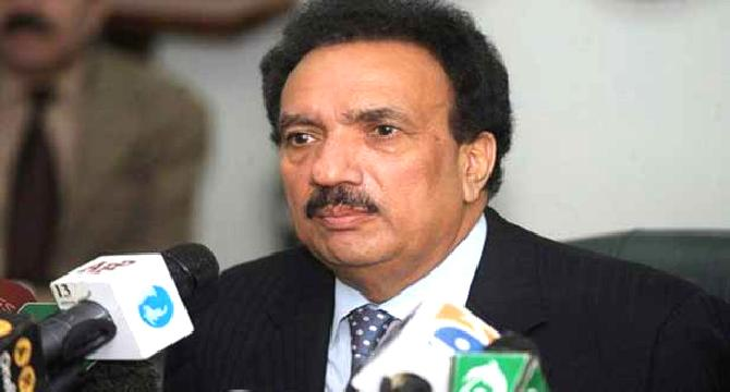 PPP, MQM candidates will be elected unopposed: Rehman Malik
