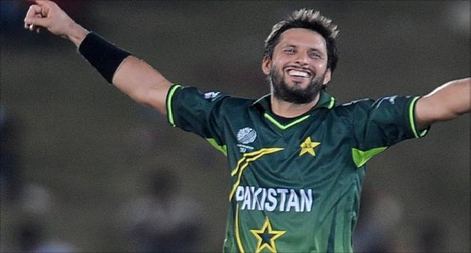 Who is shahid khan afridi?