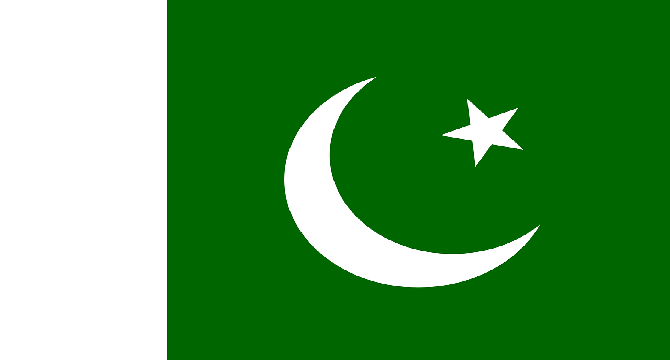 A uniform with green and white colour and our Flag