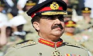 Chief of the Army Staff Gen Raheel Shareef