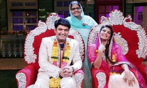 بھارت کے مشہور کامیڈین کپل شرما نے بالی ووڈ اداکارہ جیکولن فرنینڈس سے 'شادی' کر لی ہے