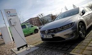 Electric car charging station companies issue warning over VW settlement