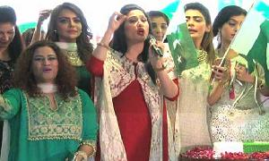 Showbiz stars come under one roof to celebrate Independence Day