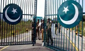 Construction of 'Pakistan gate' at Iran border in final stage