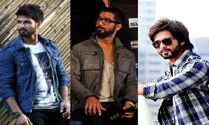 Shahid Kapoor In Very Beautiful Shirts