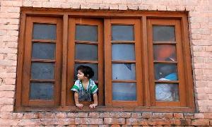 Teacher in violence-torn Indian-held Kashmir starts makeshift schools