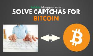 Make Money Online - Earn Money Bitcoin By Solving Captchas