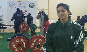 Twinkle and Sonia: Pakistani minority's powerlifting women