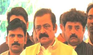 Qadri using Model Town incident for Political point-scoring – Rana Sanaullah