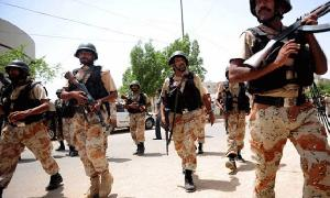 Rangers apprehend three terror suspects in Karachi