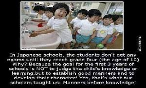 child's and manners..