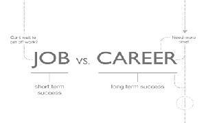 Job Oriented VS Career Oriented