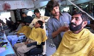 Hair cutting in necessary
