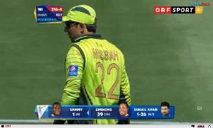 Poor Fielding From Pakistani Fielders