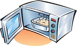 HEATING PLASTIC IN THE MICROWAVE OVEN