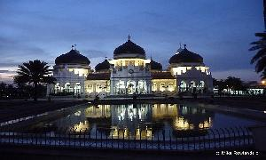 The Most Famous Mosque In Indonesiai