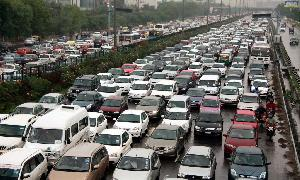 Traffic problems in Pakistan