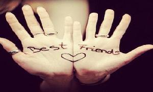 Life is beautiful if you have best friend....